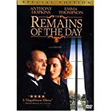 The Remains of the Day (Special Edition) ~ Anthony Hopkins
