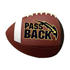 Buy Passback Football - Official Size (13 and Over) - Composite - Training Football by Passback Football