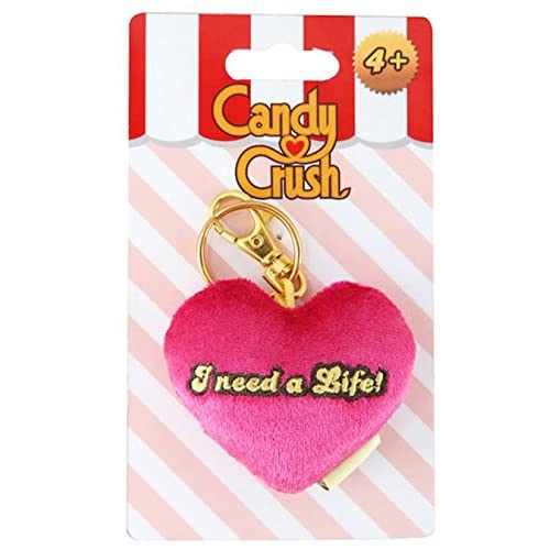 Candy Crush Saga Plush Clip On: I Need A Life