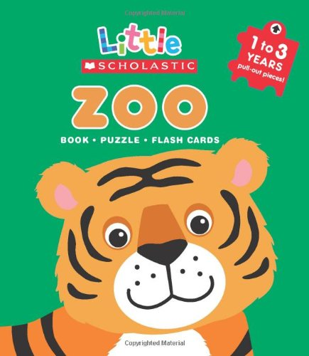 Zoo: Book, Puzzle, Flash Cards [With Flash Cards and Puzzle] (Little Scholastic)