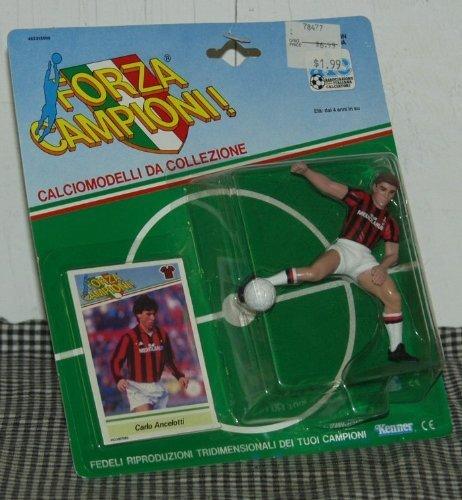 Kenner Forza Campioni! Carlo Ancelotti Toy Soccer Figure