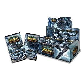 World of Warcraft TCG WoW Trading Card Game Scourgewar Booster Box 24 Packs