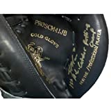 Joe Mauer Autographed Heart of the Hide Black Catchers Glove w/ 1st AL Catcher Batting Champ Insc
