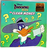 Disney's Darkwing Duck in Clean Money (Golden Look-Look Book)