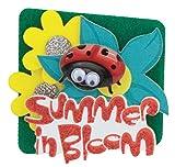 Karen Foster Design 6-Count Lil' Stacks, Summer In Bloom