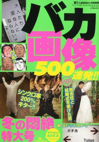 バカ画像500連発!!冬の悶絶特大号 2011年 01月号 [雑誌]