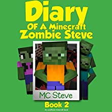 Zombie Cafe: Diary of a Minecraft Zombie Steve, Book 2 Audiobook by MC Steve Narrated by MC Steve
