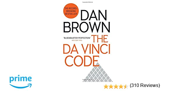 davinci code book review essay