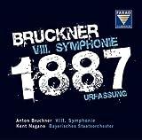 ブルックナー : 交響曲 第8番 ハ短調 WAB108 (1887年第1稿) (Bruckner : VIII Symphonie (1887 Urfassung) / Kent Nagano , Bayerisches Staatsorchester) (2CD) [輸入盤・日本語解説付]