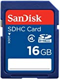 SanDisk 16GB SD HC memory card - (SDSDB-016G, bulk packaging)
