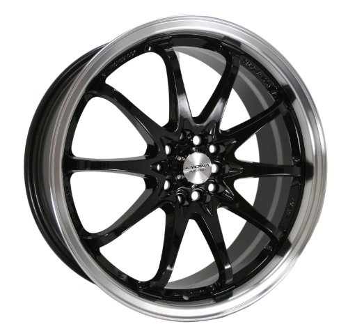 Kyowa Racing Series 206 Black - 18 x 7.5 Inch