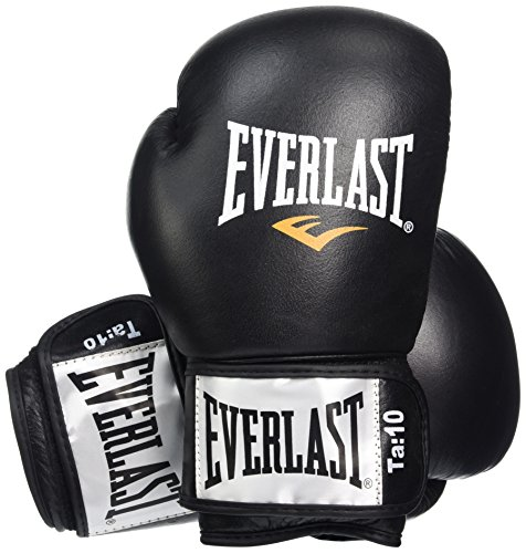 everlast-fighter-leather-boxing-training-gloves-12oz-black-red