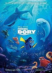 映画 ディズニー ファインディング ドリー ポスター 42x30cm FINDING DORY 2016 ピクサー ファインディング ニモ [並行輸入品]
