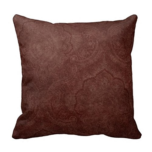 Carl Bing Fashion Pillow Cases Dark Burgundy Pattern Wallpaper Pillow Case (Cricut New York compare prices)