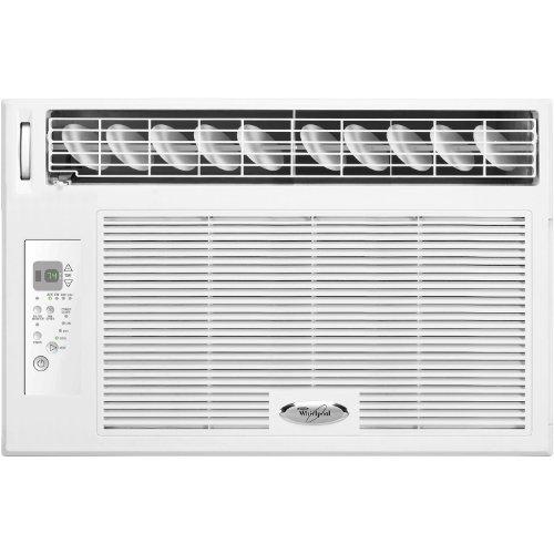 Whirlpool 8 000 btu 115v window mounted air conditioner for 115v window air conditioner with heat