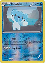 Pokemon - Cubchoo (40) - Black and White Plasma Storm - Reverse Holo [Toy]
