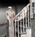DECORAZIONE STOFFA INSANGUINATA HALLOWEEN