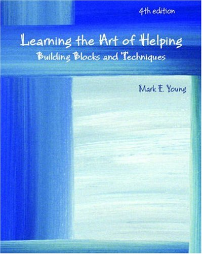 Learning the Art of Helping: Building Blocks and...