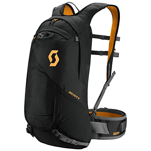 scott-trail-sac-a-dos-12-caviar-frprotect-noir-caviar-black-orange