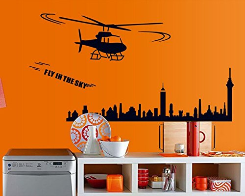 Aircraft Construction Home Furnishing Decorative Wall Stickers front-703752