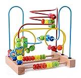 Lewo Circle Bead Maze Wooden Toys for Kids