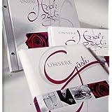 """Goldbuch Wedding Hochzeitsg�stebuch, Hochzeitsfotobuch und Schraubalbum im Setvon """"Goldbuch"""""""