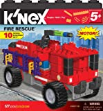 Tomy K'nex 10 Model Set Fire Rescue Construction Toy