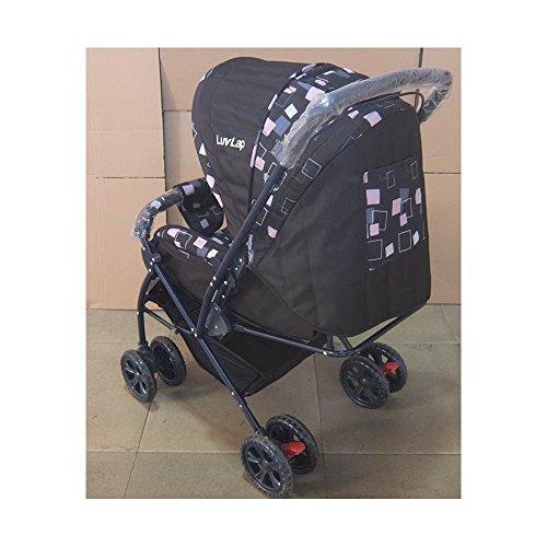 LUVLAP BABY STROLLER STARSHINE BLACK