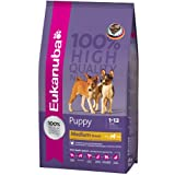 Eukanuba Chicken Medium Breed Puppy Dog Food 1kg