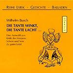 Die Tante winkt, die Tante lacht... | Wilhelm Busch