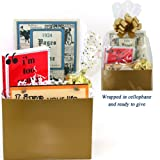 90th Birthday Gift Basket - Live Your Life - with 1924 Trivia Booklet