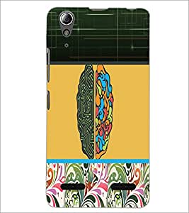 PrintDhaba Abstract Design D-3195 Back Case Cover for LENOVO A6000 PLUS (Multi-Coloured)