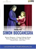 Verdi: Simon Boccanegra (Legendary Performances) [DVD]
