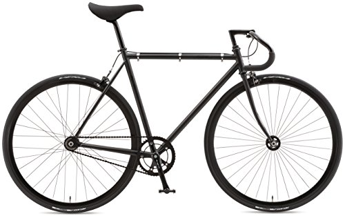 FUJI(フジ) FEATHER 700×25C シングル ピストバイク 16FETRBK52 MATTE BLACK 52cm