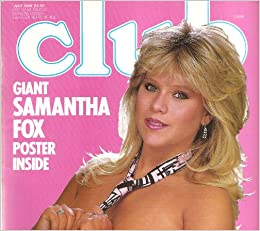 CLUB MAGAZINE WITH GIANT SAMANTHA FOX POSTER: Amazon.com: Books