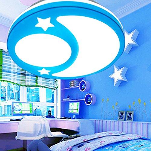 sflash kaltwei deckenleuchte dechenlampe kinderleuchte blau mond stern design schlafzimmer. Black Bedroom Furniture Sets. Home Design Ideas