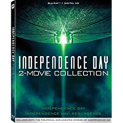 Independence Day 2-Movie Collection [Blu-ray]