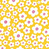 Patty Young Blossoms Fabric -Yellow