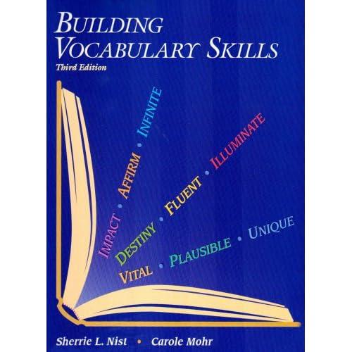 Building vocabulary skills carole mohr 9780944210123 for Construction vocabulary