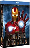 Image de Iron Man + Iron Man 2 - Coffret 2 Blu-ray + 2 Blu-ray bonus + 1 DVD + 1 copie digitale