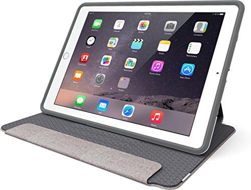 OtterBox SYMMETRY FOLIO SERIES Case for iPad Mini 1/2/3 - Frustration Free Packaging - GLACIER STORM (WHITE/GUNMETAL GREY) (Slim Folio For Ipad Mini compare prices)