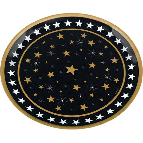 Hollywood Round Star Platter