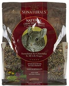 Sunatural Chinchilla Food, 2.75 pounds