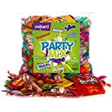 Assorted Classic Candy - Huge Party Mix Bulk bag of: Skittles, Starbursts, Smarties, Lemonhead, Twizzlers, and more! net weight 4.2 LB/1.9 kg