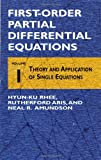 img - for First-Order Partial Differential Equations, Volume 1: Theory and Applications of Single Equations book / textbook / text book