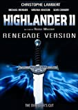 echange, troc Highlander 2 : Renegade version (Director's Cut)