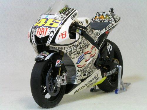 Minichamps 1/12 ヤマハ YZR-M1 - V.ROSSI - MOTO GP 2010 ラグナ セカ