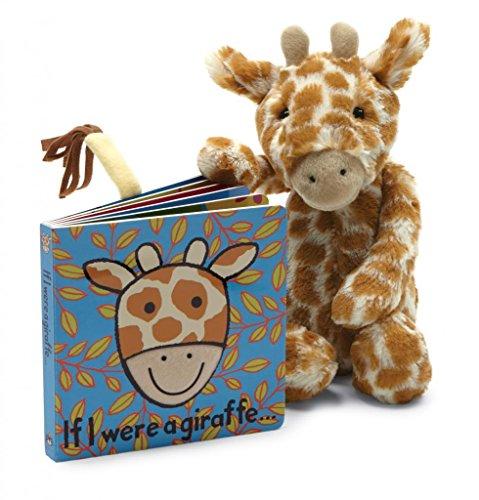 Jellycat® Board Books, If I Were A Giraffe front-1008601