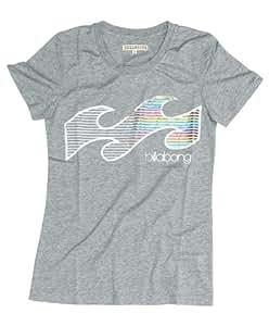 Billabong Damen T-shirt Luciano, grey heather, XS, J3SS16BIS2