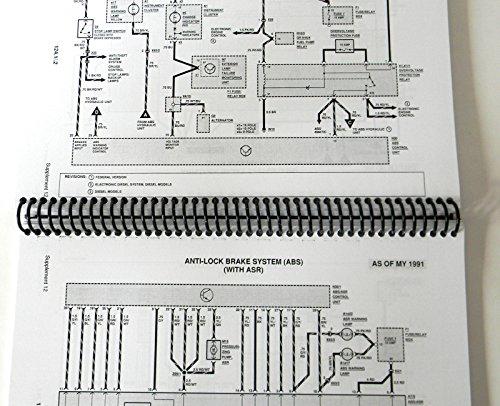Galleon mercedes electrical service manual w124 1992 for 1991 mercedes benz 300e repair manual